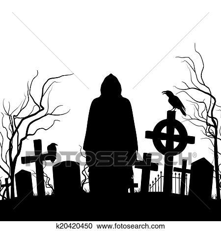 clipart cemitério k20420450 busca de ilustrações clip art