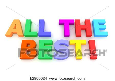 Drawings Of Colourful All The Best K2900024 Search Clip Art