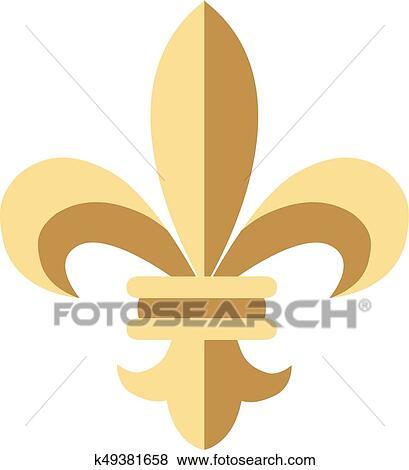 Clipart Fleur clip art of fleur de lis k49381658 - search clipart, illustration