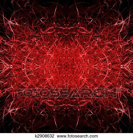 Clip Art Of Satanic Hell Background K2908632 Search Clipart
