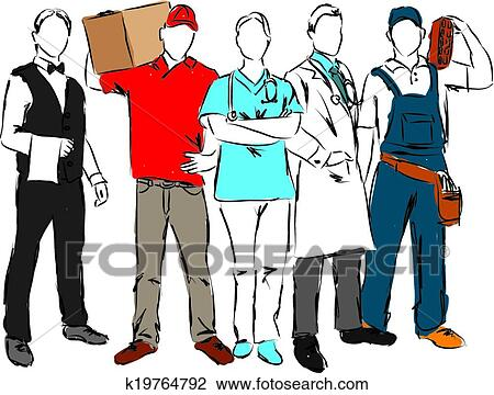 clipart of careers professional ocuppations il k19764792 search rh fotosearch com professional clipart for excel professional clip art images