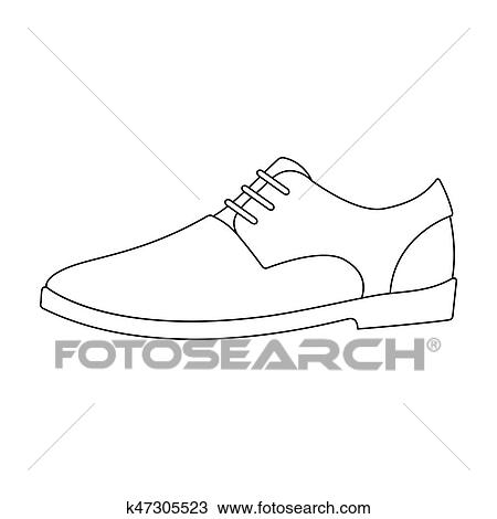 Mens leather shiny shoes with laces. Shoes to wear with a