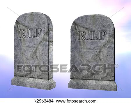 Dessins pierre tombale k2953484 recherche de clip arts d 39 illustrations et d 39 images - Pierre tombale dessin ...