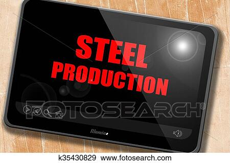 Drawing Smooth Lines With A Tablet : Stock illustration of steel background with smooth lines k