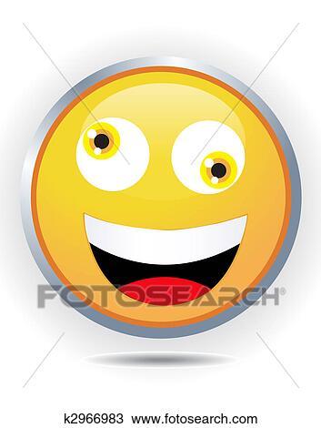 Crazy smiley