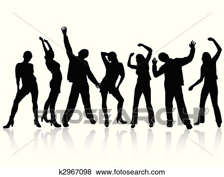 clip art of happy people k2967098 search clipart illustration