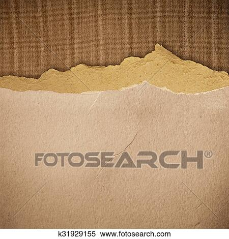 Grunge Paper Texture Vintage Background Stock Illustration