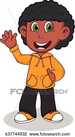 Clipart - niño pequeño 083b628059e