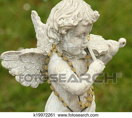 PRETYZOOM 2 Pi/èces Petit Ange Fille Statue G/âteau danniversaire Figurine Ange Priant Figure R/ésine Maison de Poup/ée Poup/ée Mini F/ée Jardin Table D/écoration