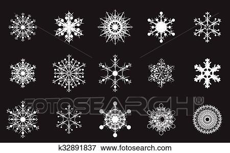 Fiocchi Di Neve Di Carta Modelli : Clip art fiocco di neve k cerca clipart poster