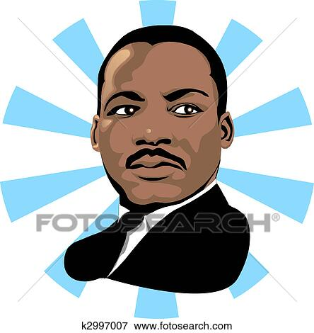 stock illustration of martin luther king 2 k2997007 search eps rh fotosearch com clipart martin luther king day clipart martin luther king holiday