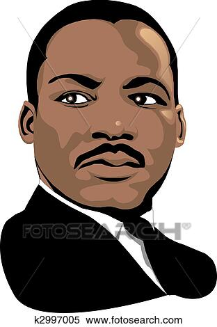 Stock Illustration Of Martin Luther King K2997005 Search Clipart