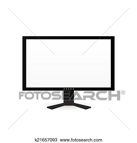 clipart of computer screen k21657093 search clip art illustration rh fotosearch com cartoon computer screen clipart old computer screen clipart