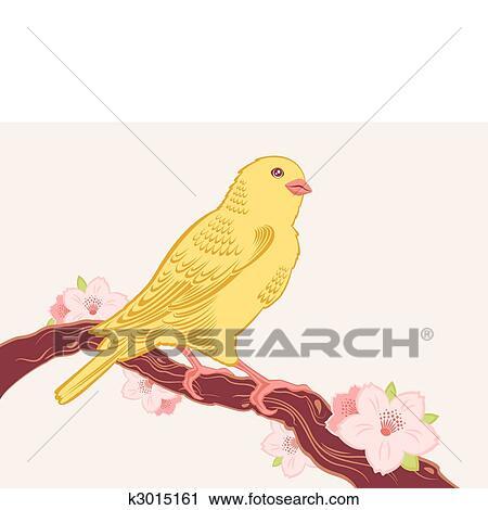 Clipart Oiseau Branche K3015161 Recherchez Des Clip Arts Des