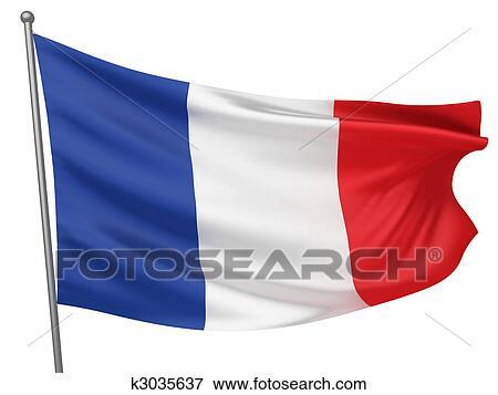 フランス 国旗 イラスト K3035637 Fotosearch