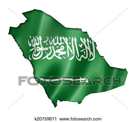 رسم علم السعودية ثلاثي الابعاد Lazcy Blog