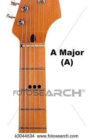 Drawings of A Guitar Chord Diagram k3044534 - Search Clip Art ...