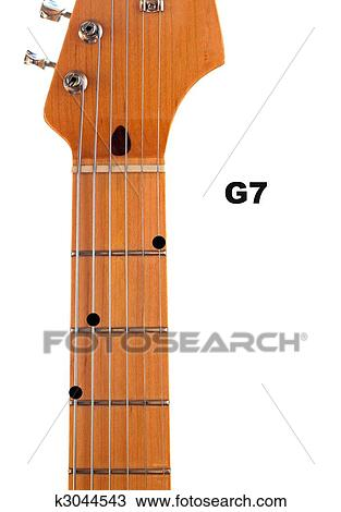 Drawing Of G7 Guitar Chord Diagram K3044543 Search Clipart