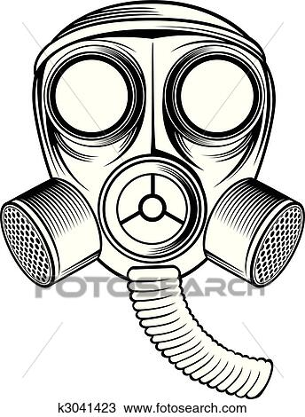 clipart of gas mask k3041423 search clip art illustration murals rh fotosearch com gas mask clipart gas mask clip art free