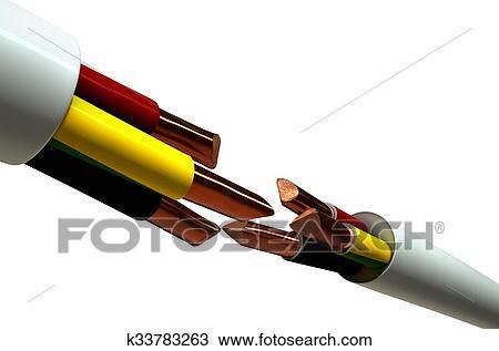 Fein Art Der Elektrischen Kabel Galerie - Der Schaltplan - greigo.com