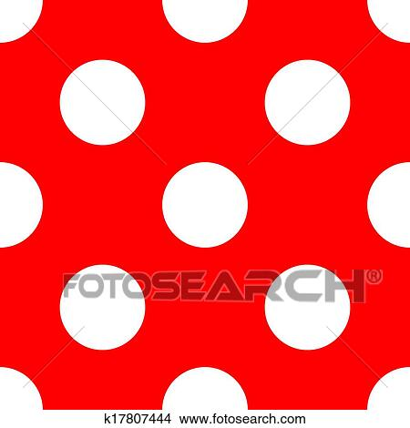 clipart of red vector polka dots background k17807444 search clip rh fotosearch com black polka dot background clipart Blue Polka Dot Clip Art