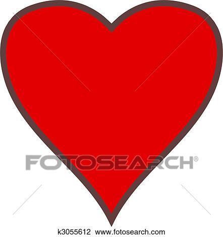 Simple Coeur Dessin
