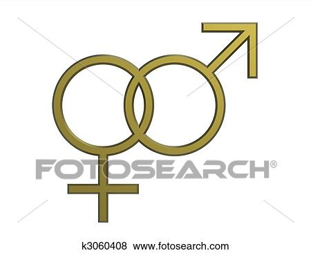 Pictures Of Male And Female Seks Symbols K3060408 Search Stock