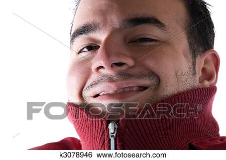 stock images of cold shivering man k3078946 search stock