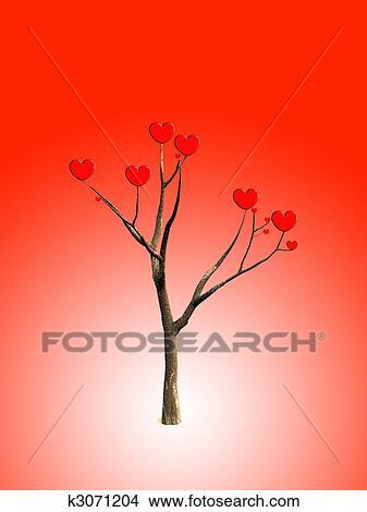 Dibujos El Amor árbol K3071204 Buscar Clip Art Ilustraciones
