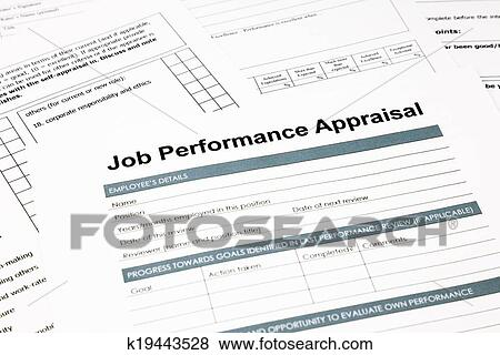 Pictures Of Job Performance Appraisal Form For Business K
