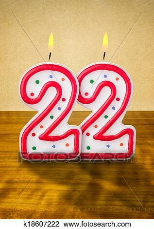 الشحن انهيار غاضب شموع عيد ميلاد 22 Sjvbca Org