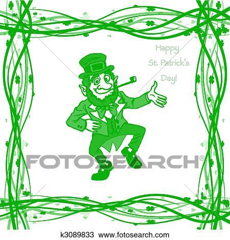 Dibujo - marzo, 17, s. día patrick k3089833 - Buscar Clip Art ...