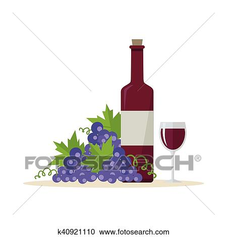 Wine Production Banner Poster For Red Vine Clipart K40921110 Fotosearch