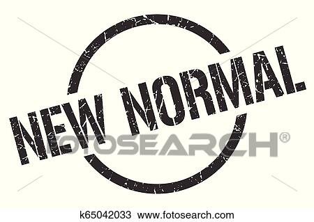 New Normal Stamp Clipart K65042033 Fotosearch