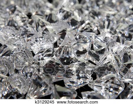 stock image of diamond background k3129245 search stock photos
