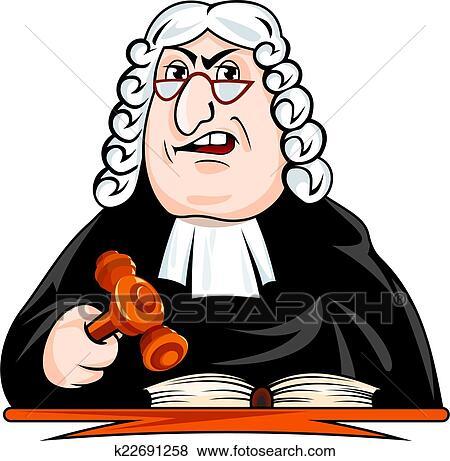 clip art of judge make verdict k22691258 search clipart rh fotosearch com clip art judge scale clip art judge and law