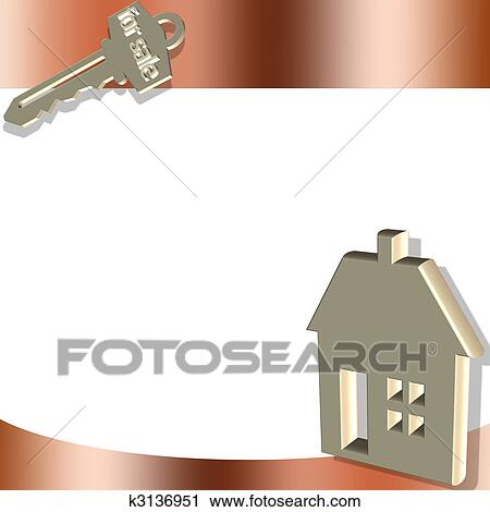 gold house key. Clipart - Gold House And Key. Fotosearch Search Clip Art, Illustration Murals, Key