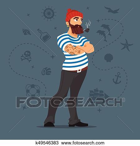 Trouvez la perfection en matière dillustrations et dessins animés de Man Smoking A Pipe Drawing sur Getty Images.