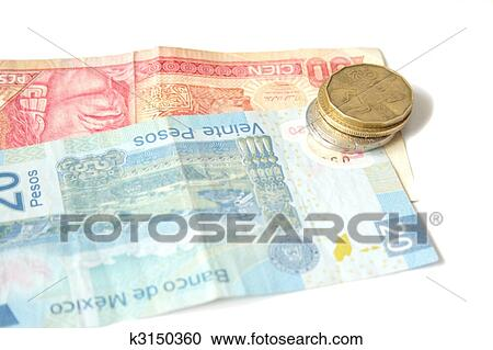 Mexican Currency Stock Image K3150360