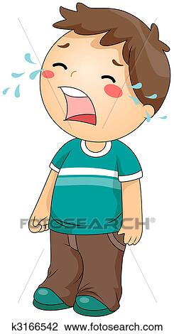 clip art of crying k3166542 search clipart illustration posters rh fotosearch com fotosearch clipart gratuit fotosearch clipart