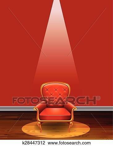 Fine Red Chair Clipart Home Interior And Landscaping Ologienasavecom