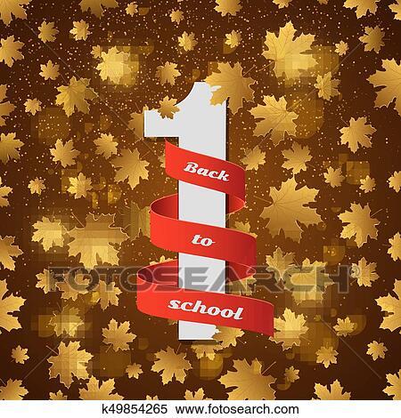 Number one ribbon award Royalty Free Vector Image