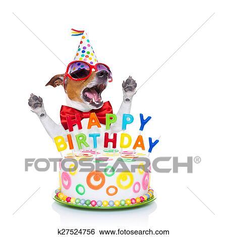 Stock Bilder Alles Gute Geburtstag Hund Singen K27524756 Suche