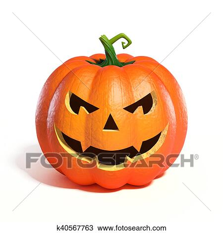 Halloween Pumpkin Jack O Lantern Drawing K40567763 Fotosearch