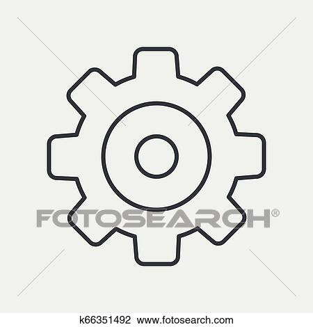 Repair, Construction Icons. Hammer, Wrench Tool And Cogwheel.. Royalty Free  Cliparts, Vectors, And Stock Illustration. Image 51721736.