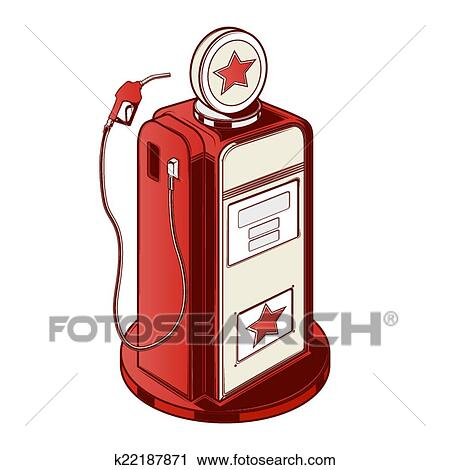 Gasolinera Clip Art
