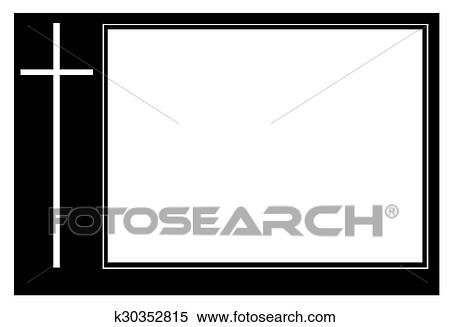 Stock Image of Funeral frame k30352815 - Search Stock Photos, Mural ...