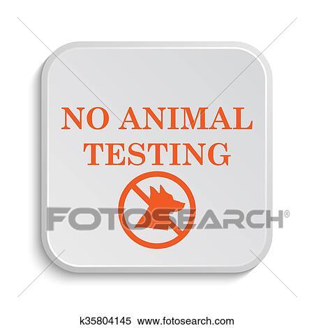 Stock Illustration Of No Animal Testing Icon K35804145 Search