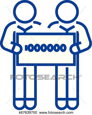 A Million in One Clip Art