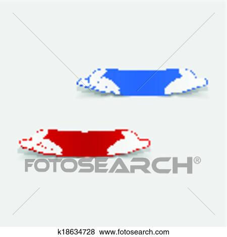 Clipart Realiste Conception Element Tortue Mer K18634728